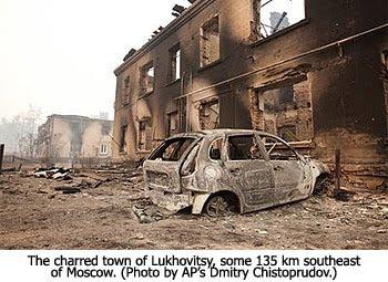 Charred Lukhovitsy