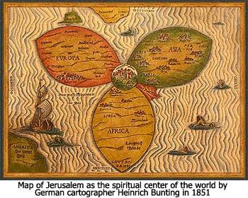 Jerusalem Center Of The World Map.The Christ In Prophecy Journal Jerusalem Is The Center Of The World