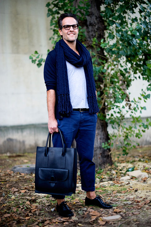 af0b50fabdf7 Below  Céline luggage tote on a guy... yes or no  One thing s for sure