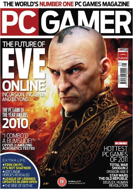 Download PC Gamer No.1 Games Magazine - January 2011 ...