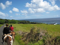 Horseback riding in Hawaii with Maui Stables in Hana