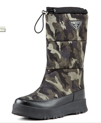 Shoe Daydreams Eeeewwww Prada Winter Camo Boot