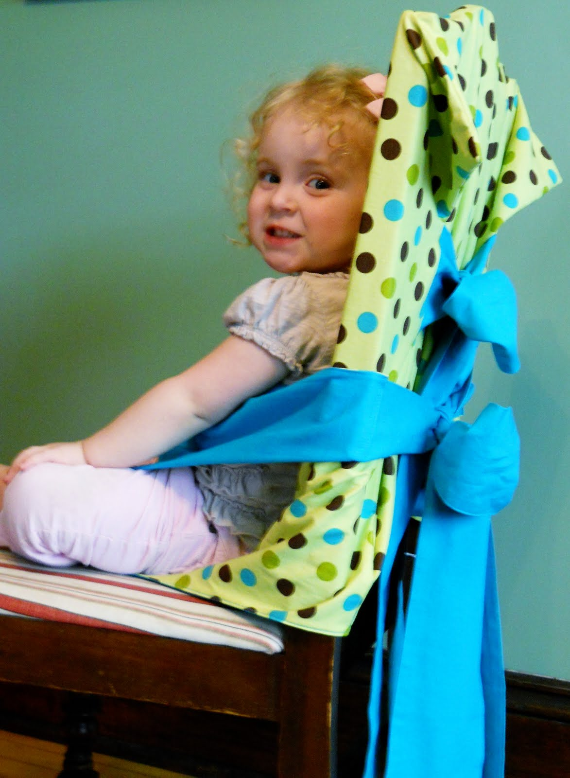 Cloth Portable High Chair A For My Mother Micah C Do Tie On Highchair Update