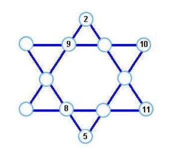 Los Retos Matemáticos Del Mes Reto Nº 17 La Estrella Mágica