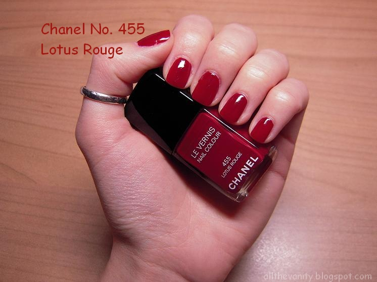 Chanel Lotus Rouge - All the Vanity