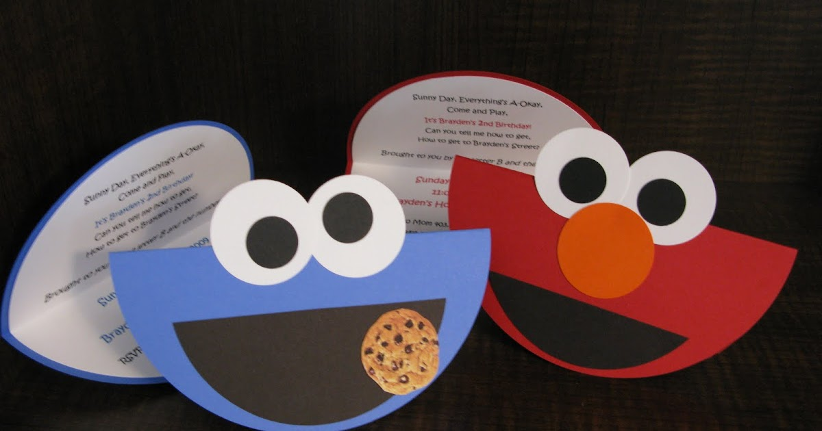 Embracing the Three Me's: Elmo & Cookie Monster Birthday ...