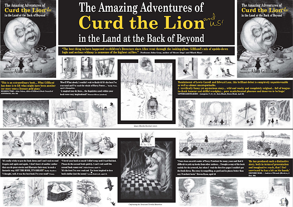 The Amazing Adventures of Curd the Lion (and us!) in the Land at the Back of Beyond