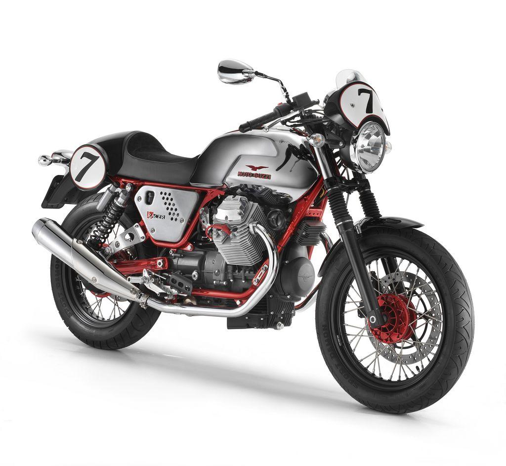 2011 moto guzzi v7 cafe racer limited edition new motosport custom concept modification. Black Bedroom Furniture Sets. Home Design Ideas