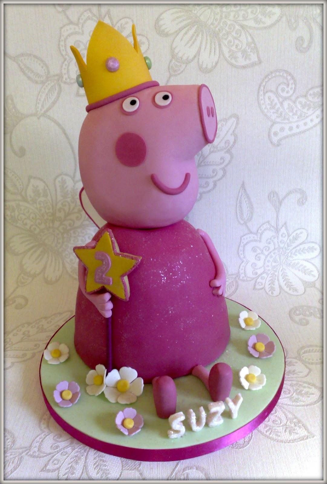 Make A Peppa Pig Cake