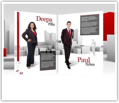 Presentation Design: Page Flip Effect