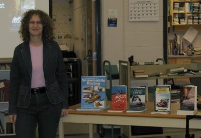 Longhorns & Outlaws Book Tour – J.C. Charyk Hanna School