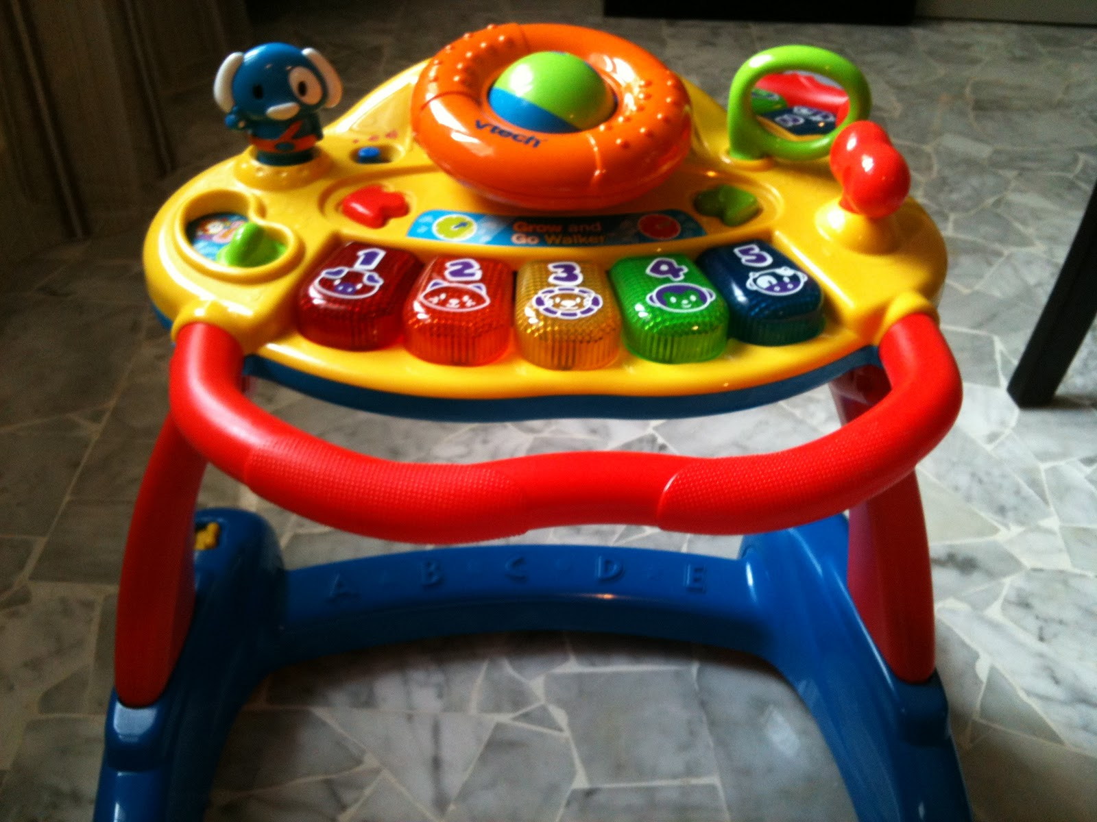 My Pre Loved Toys Vtech Grow And Walk Walker Sold