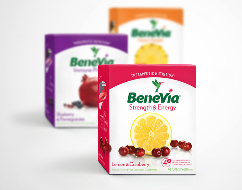 BeneVia Health Drink box