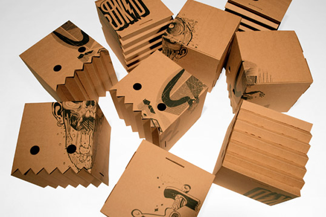 Herokid Magic Box on Packaging of the World  Creative Package Design Gallery