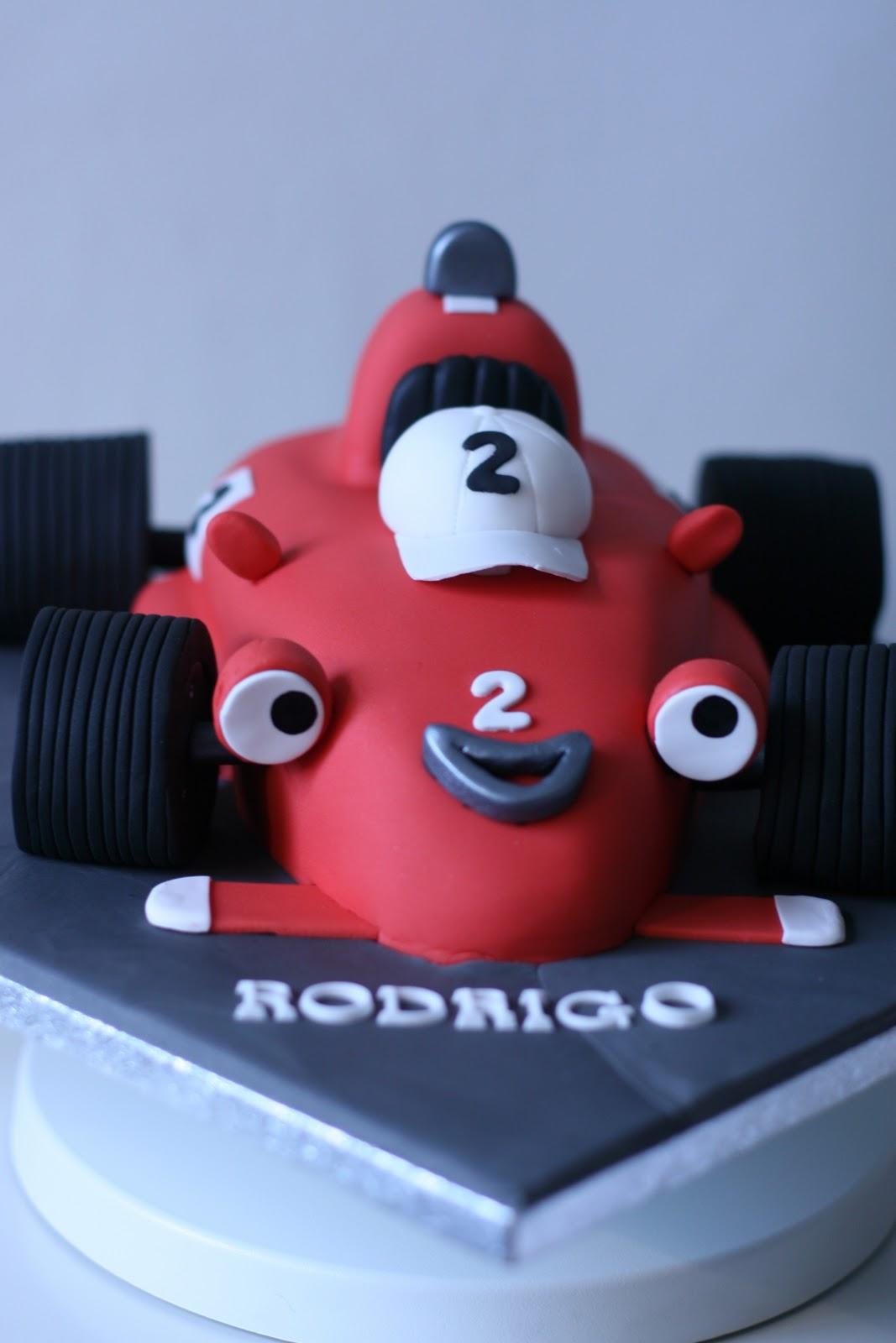 Baker Byte Roary The Racing Car
