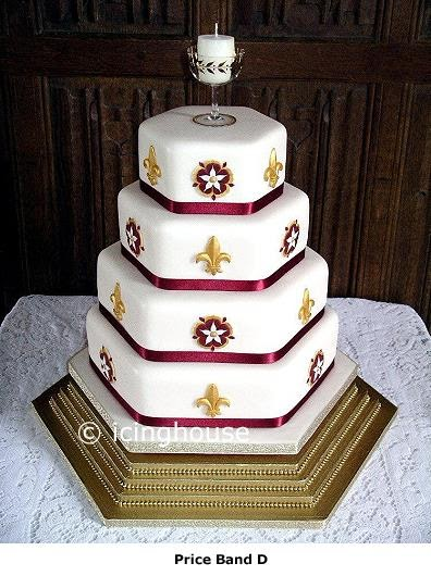CakeChannelcom  World of Cakes Medieval Wedding Cake
