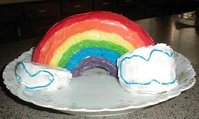 Feeding Frenzy Birthday Cakes
