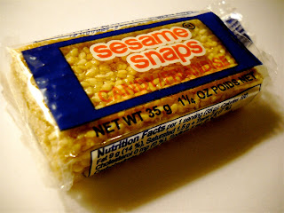Sweet Vegan Candy Blog: Sesame Snaps