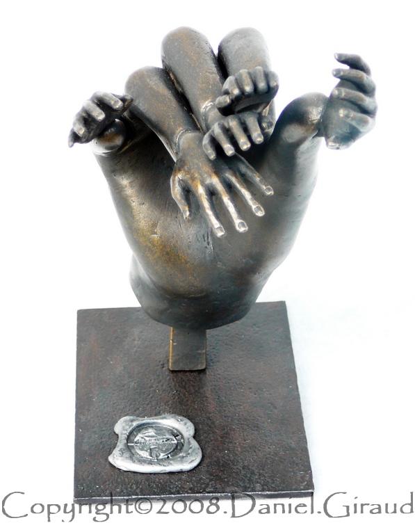 objet sculpture fractale