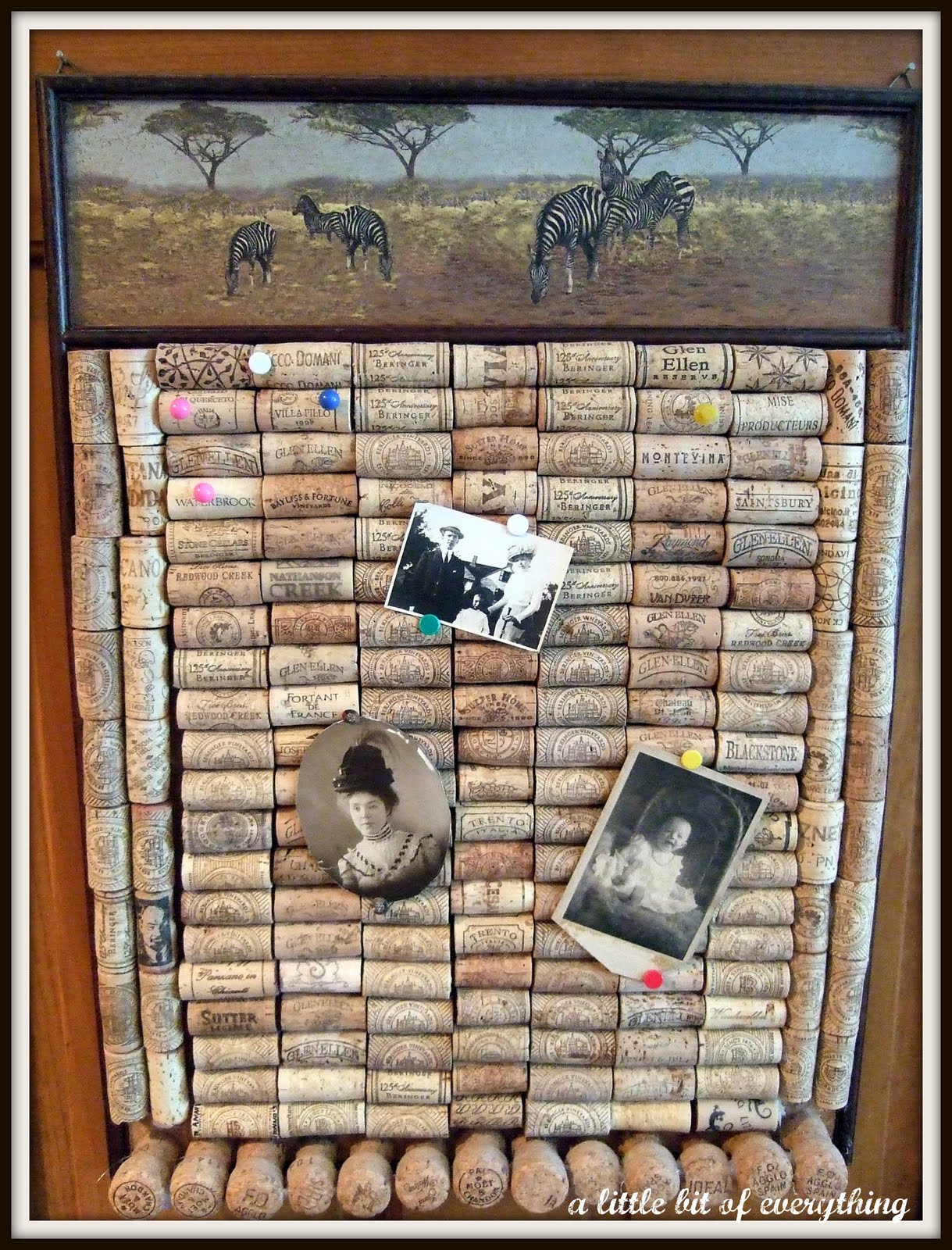Magnificent Crafts: Wine Cork Bulletin Board 1219 x 1600 · 455 kB · jpeg