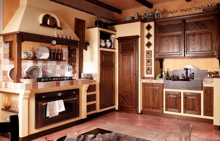 Linea 811 mastri cucine for Cucine in murature