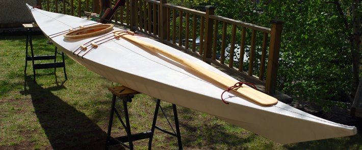 Making a West Greenland Kayak