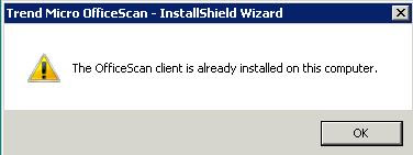 Clint Boessen's Blog: Forcefully Remove Trend OfficeScan Client 10 0