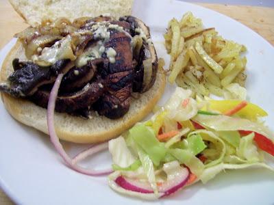 Just Vegging Out Recipe Grilled Portobello Mushroom Burgers