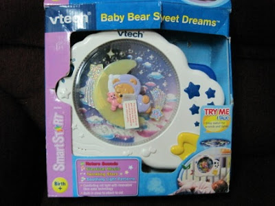 Vtech Baby Bear Smart Dream Projection Crib Toy My Baby