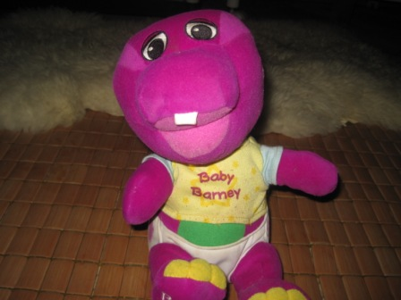Singing N Dancing Baby Barney My Baby