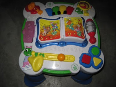 Leapfrog Learning Activity Table My Baby