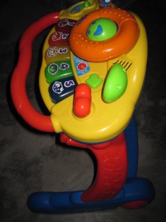 Baby Equipment Vtech Grow N Go Baby Walker Cum Musical Board