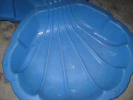 Baby Equipment Big Sea Shell Sandbox Baby Pool