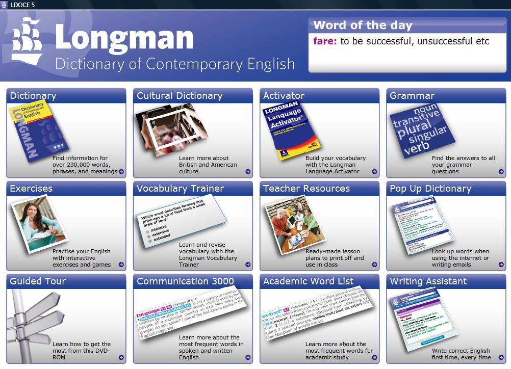 English of longman 5th pdf dictionary contemporary