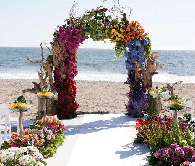 Sunset Beach Wedding Ideas: THE SUNSET MALIBU: SIGNATURE WEDDING COCKTAILS