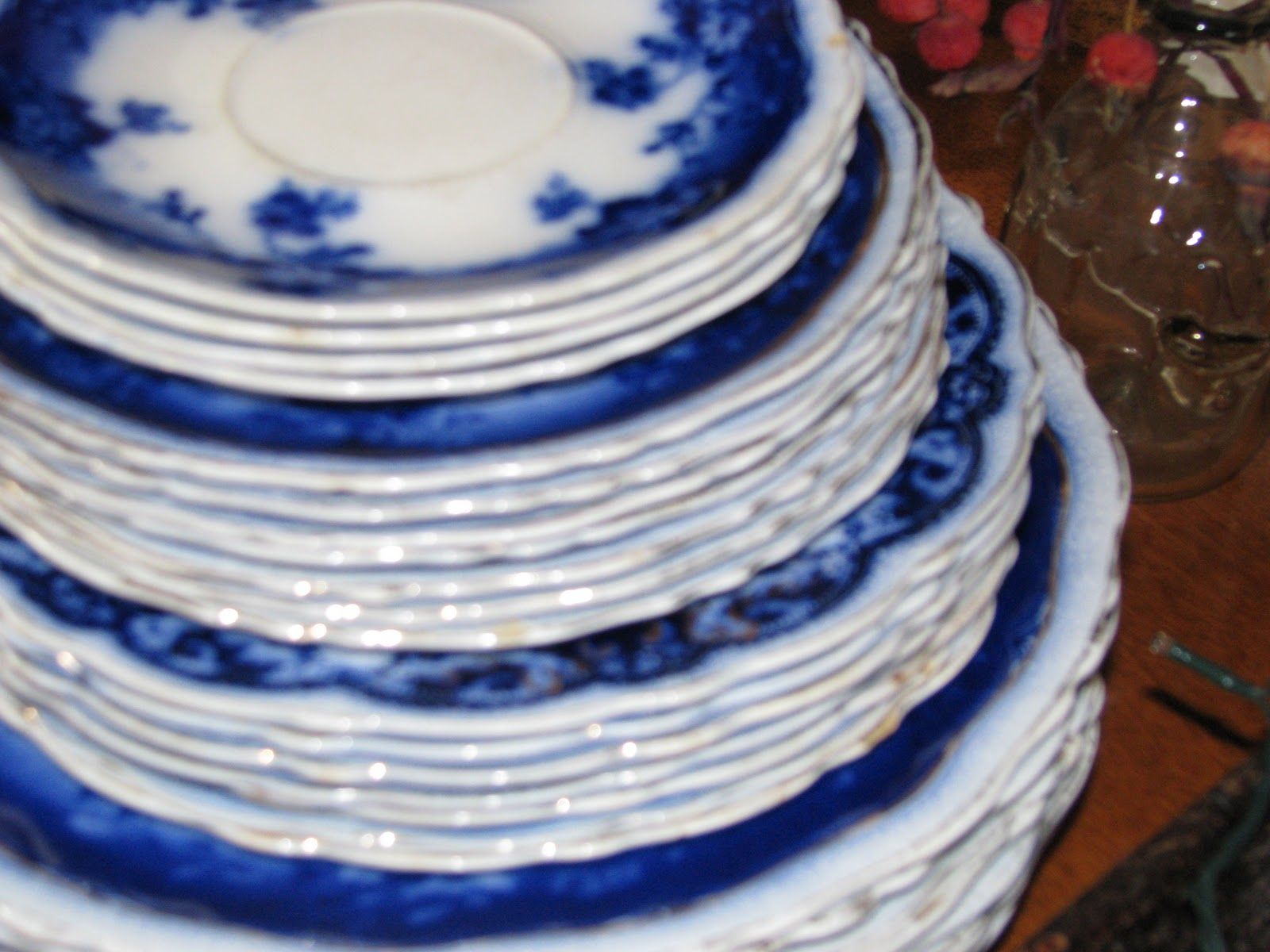 Flow Blue Dishes 72