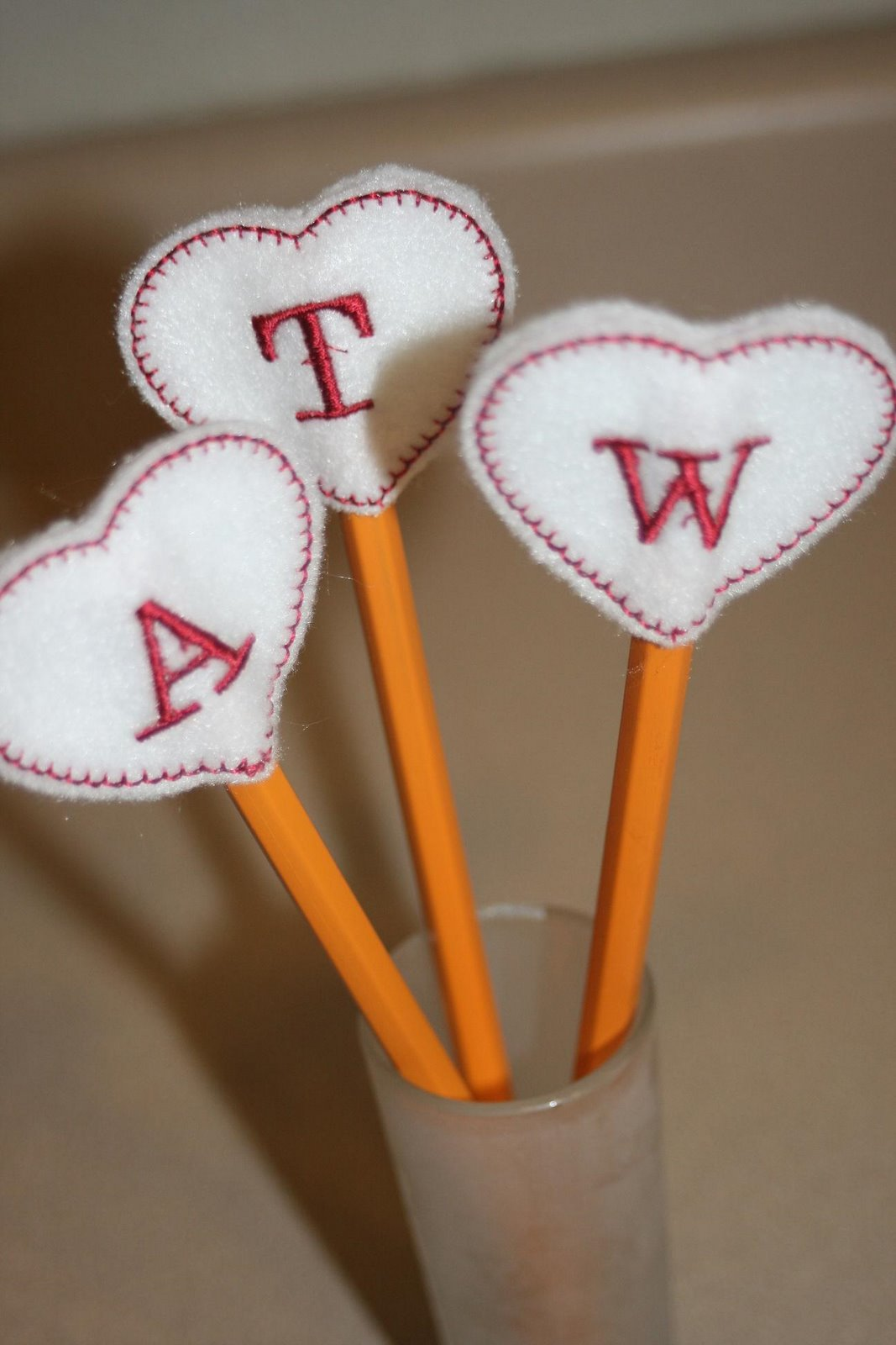 Valentine Pencil Topper Craft Valentine Craft Bag Ideas