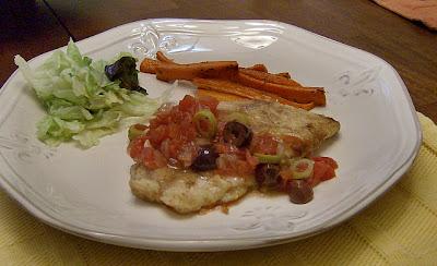 Fish w/ Provencal Sauce