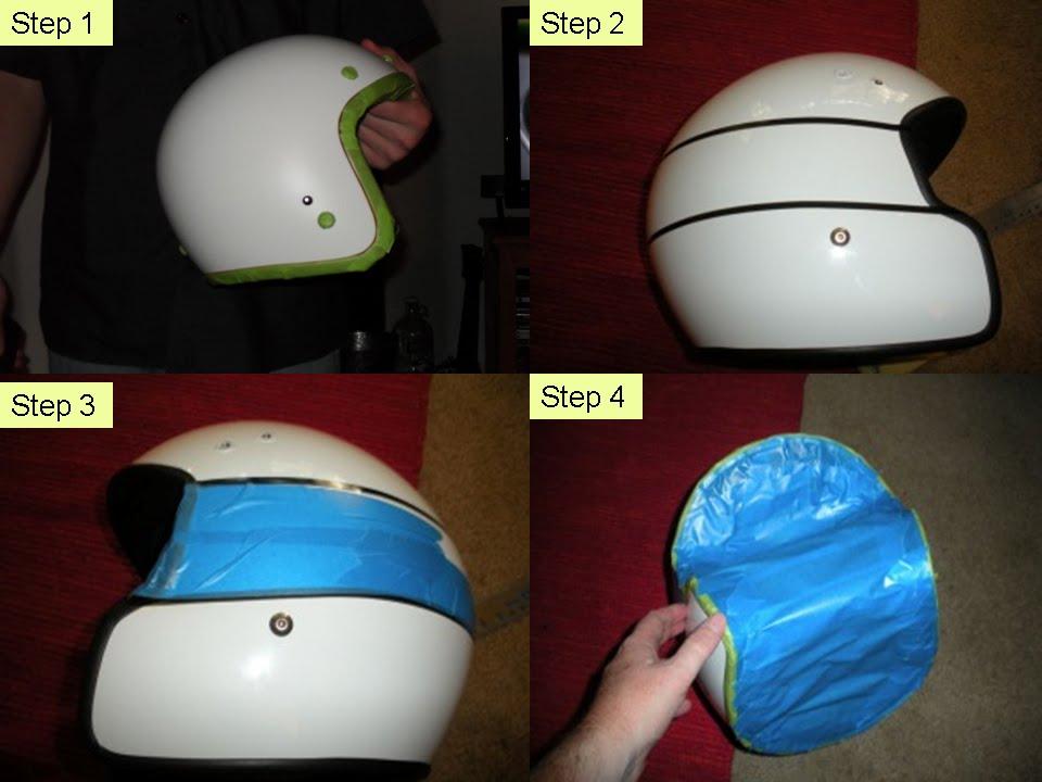 Fire Starting Automobil DIY Cara Cat Sendiri Helmet