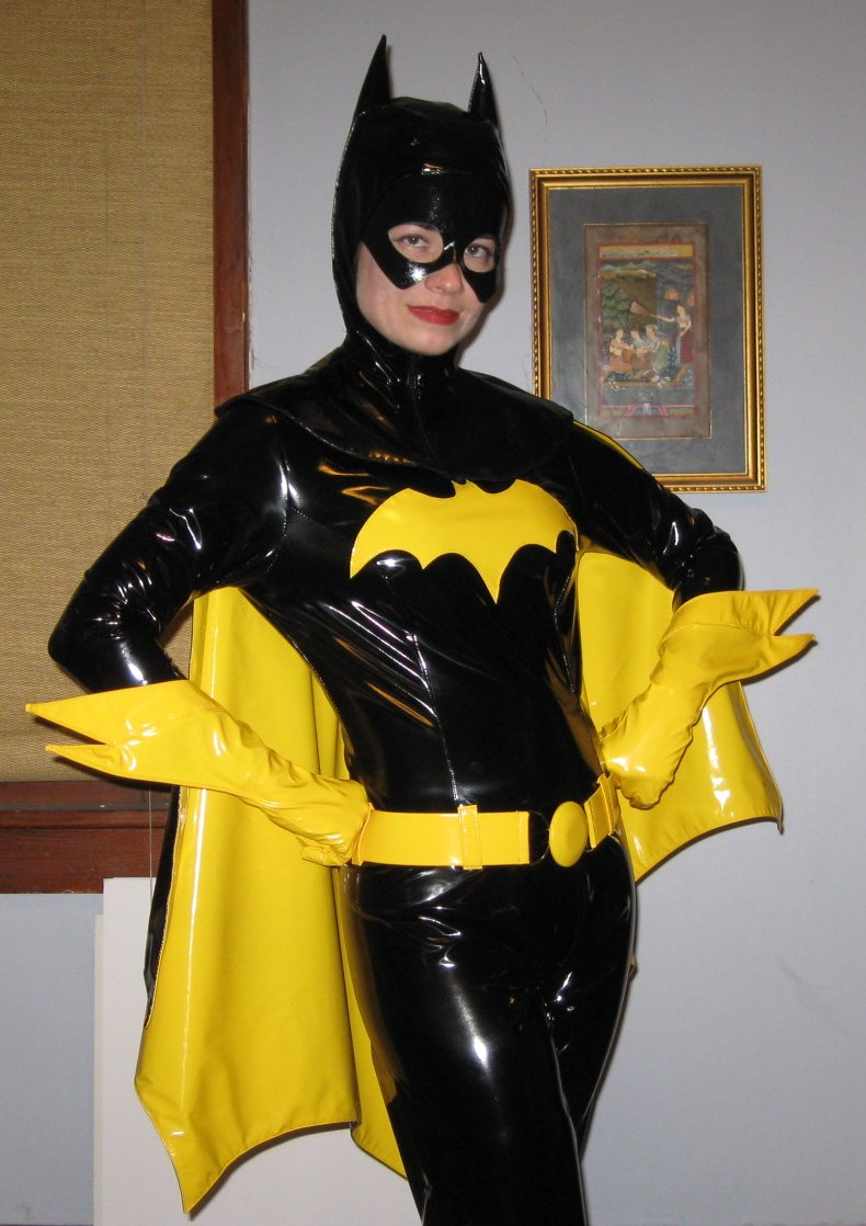 The Literary Assassin: PVC Batgirl costume