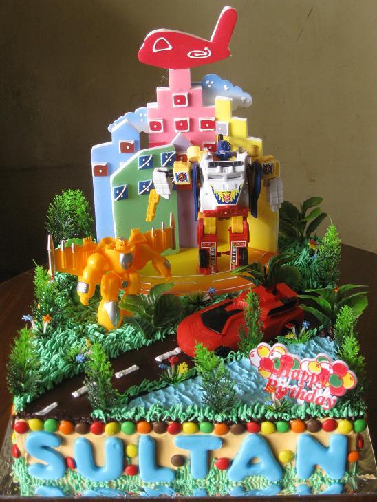 Masama Cakes Birthday Cake Transformer Untuk Sultan