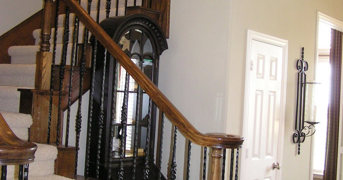 Interior Design Info How To Replace Wood Stair Spindles