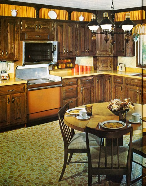 1970 Formica Kitchen House Furniture