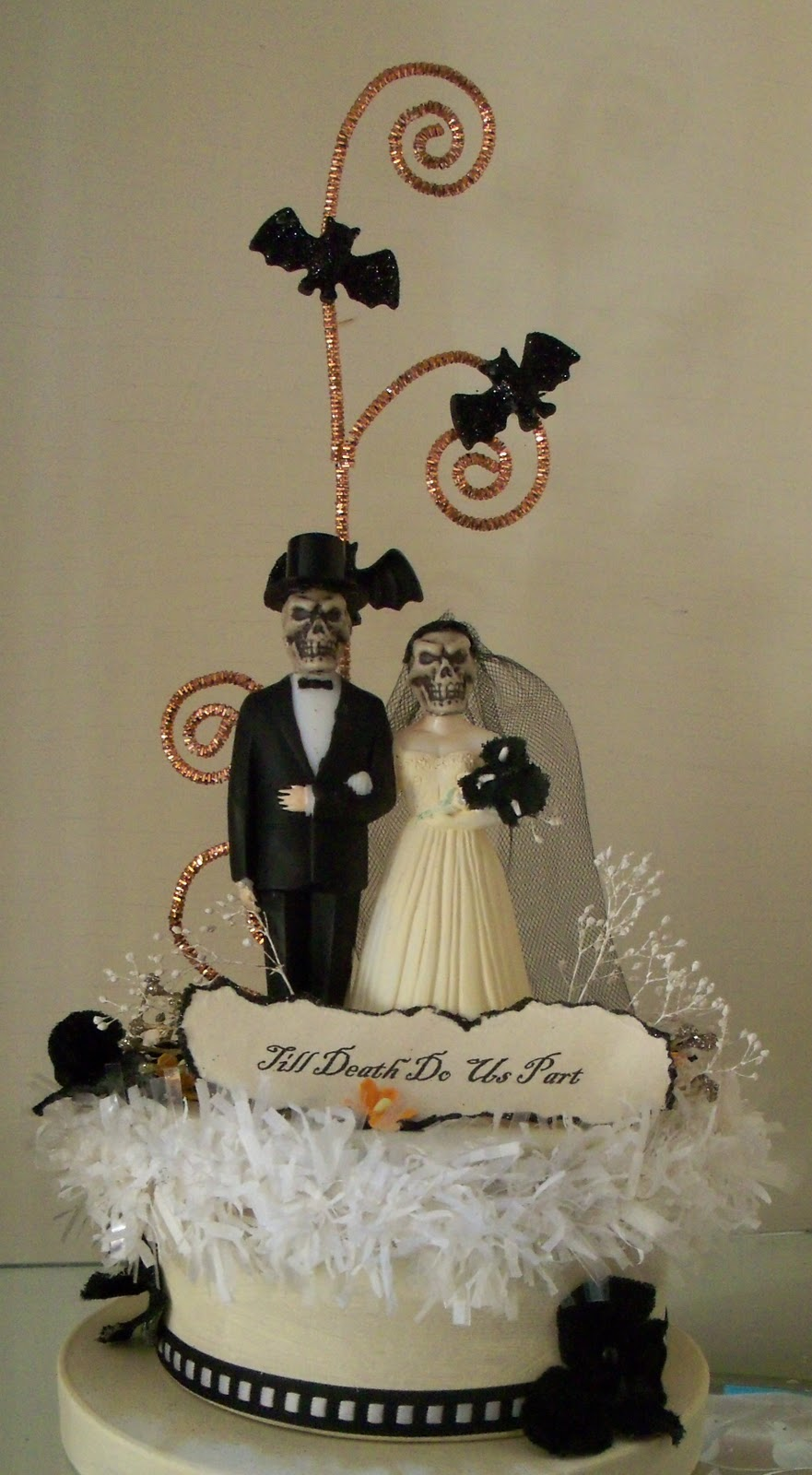 halloween wedding cake toppers the best cake topper 4674