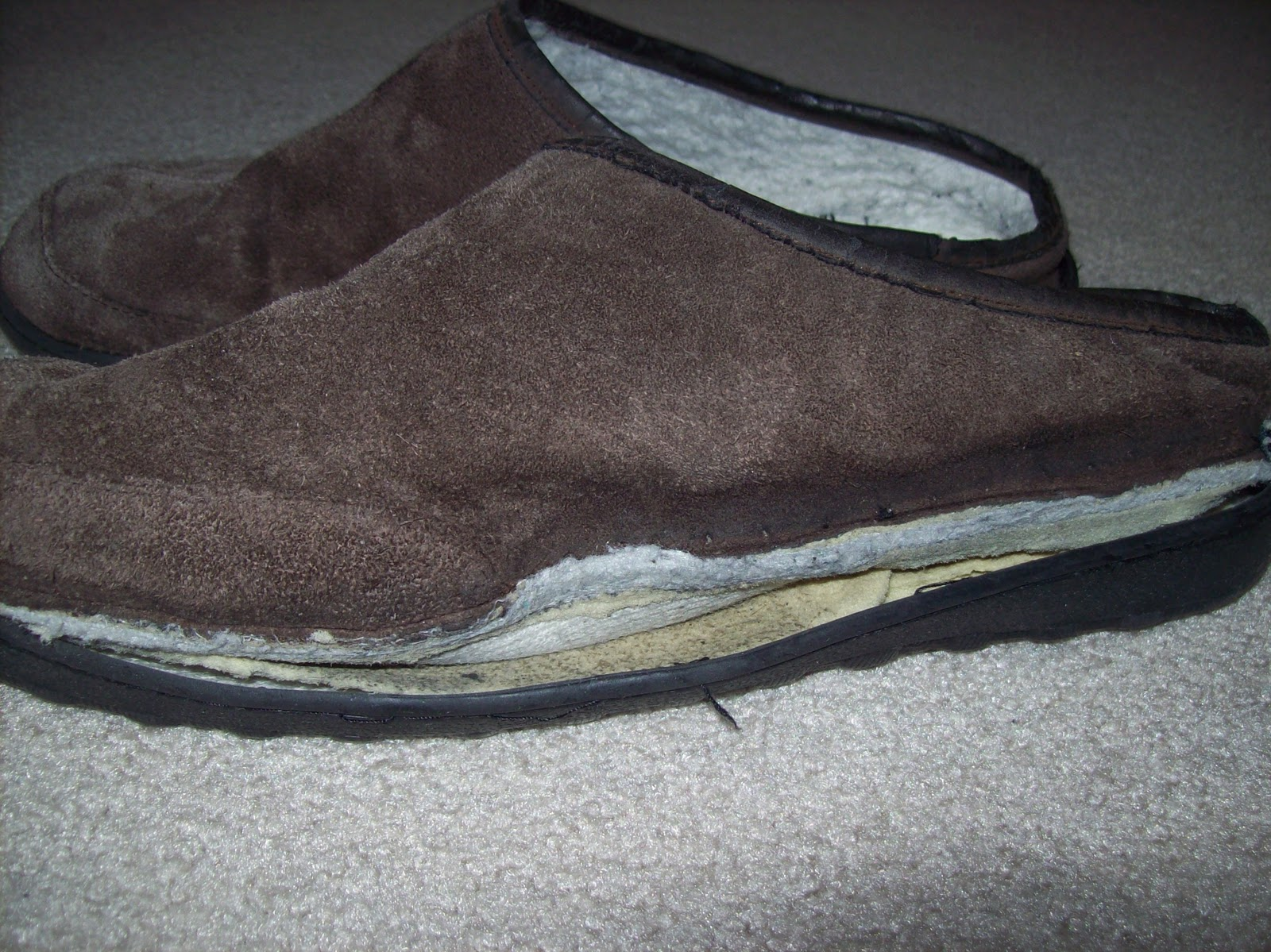 old slippers