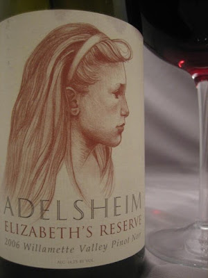 The Adelsheim Elizabeths Reserve Willamette Valley Pinot Noir 2006 Is A Best Of Wine Consisting Barrel Selection From Adelsheims