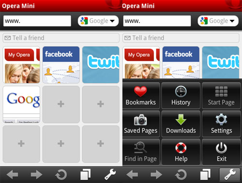 Download Opera Mini 5 1 for Android, Symbian, Windows Mobile
