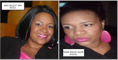 makeup CRAZIE!: Foundation Comparison/Review MAC Select SPF and NARS
