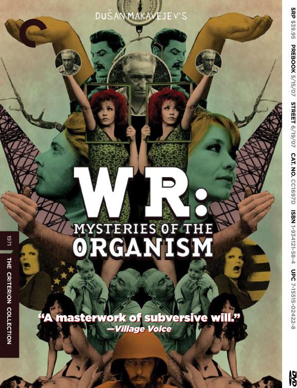 Poster do filme W.R. - Mistérios do Organismo