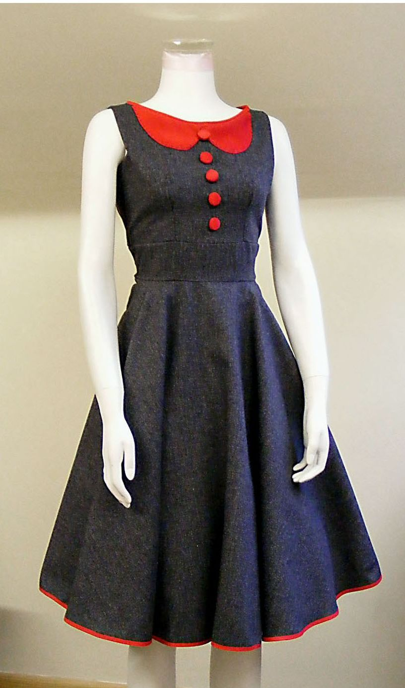 aa5b2999a53af Domestic Sluttery  Etsy Pick  50s Picnic Dress by Make Me A Dress